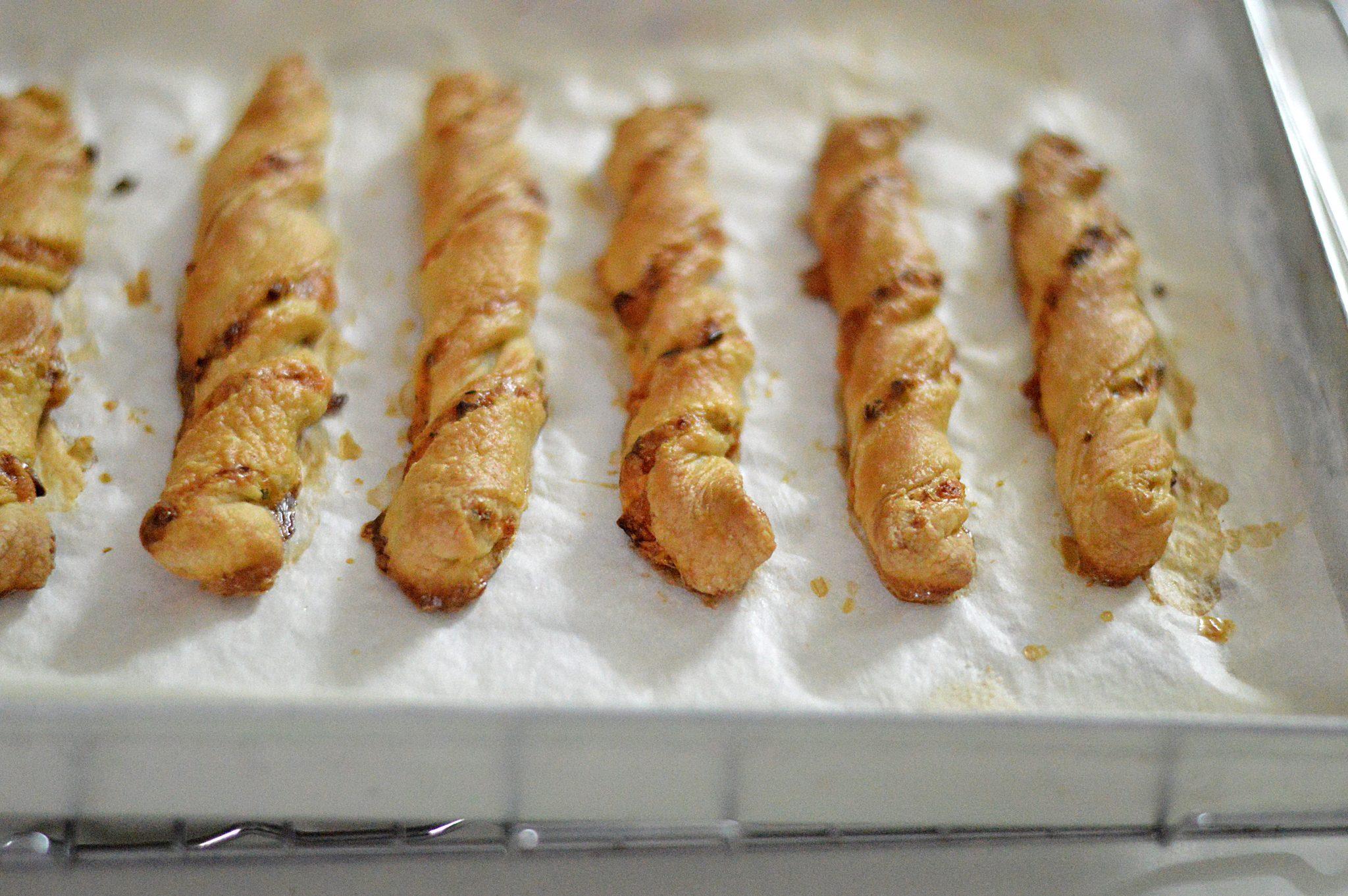 Puff Pastry Cheese Twist 2blissofbaking