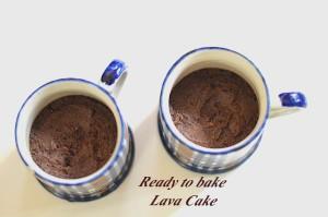 Egg less Lava Cake