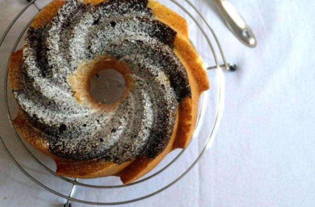 Eggless Vanilla Bundt Cake Recipe