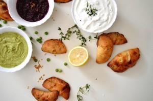 Mini Calzone Snack - Vegetarian Recipe