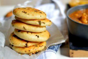 Flat bread/Bread kulcha