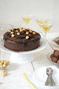 Ferrero Rocher Mousse cake