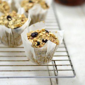 Healthy Eggless Breakfast Muffin Recipe