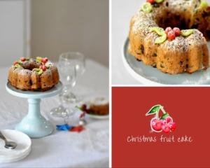Easy and quick Christmas cake recipe