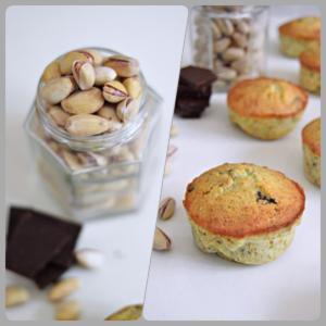 Pistachio Chocolate Teacakes food photography