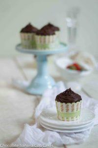 Chocolate Banana Cup Cakes