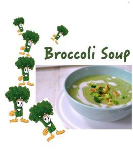 Broccoli Soup food photography