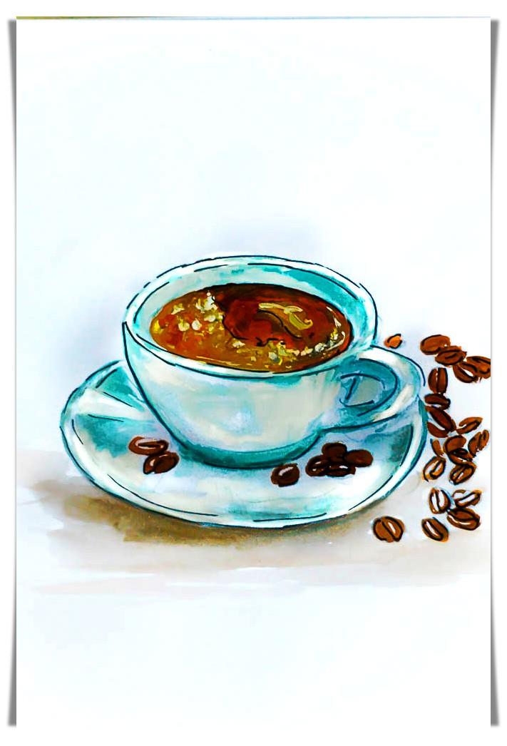 coffee doodle