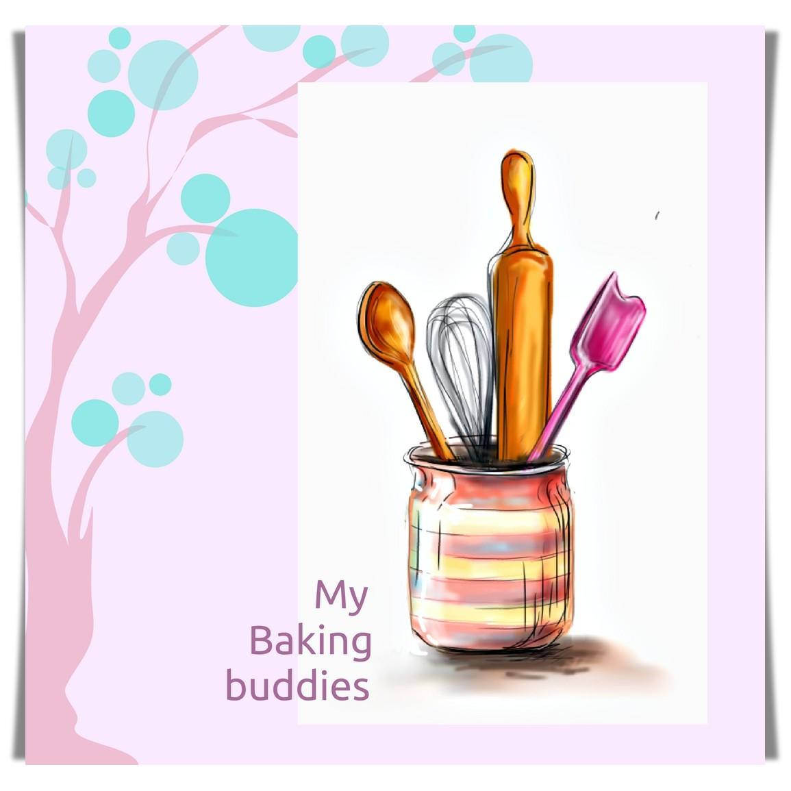 food doodle baking buddies