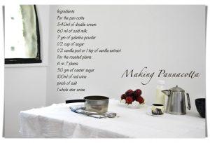 Pannacotta recipe