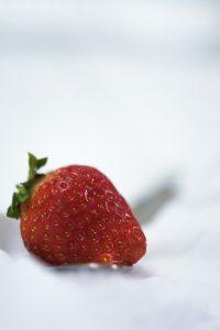 strawberry food styling