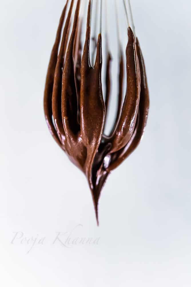 No bake chocolate silk cake