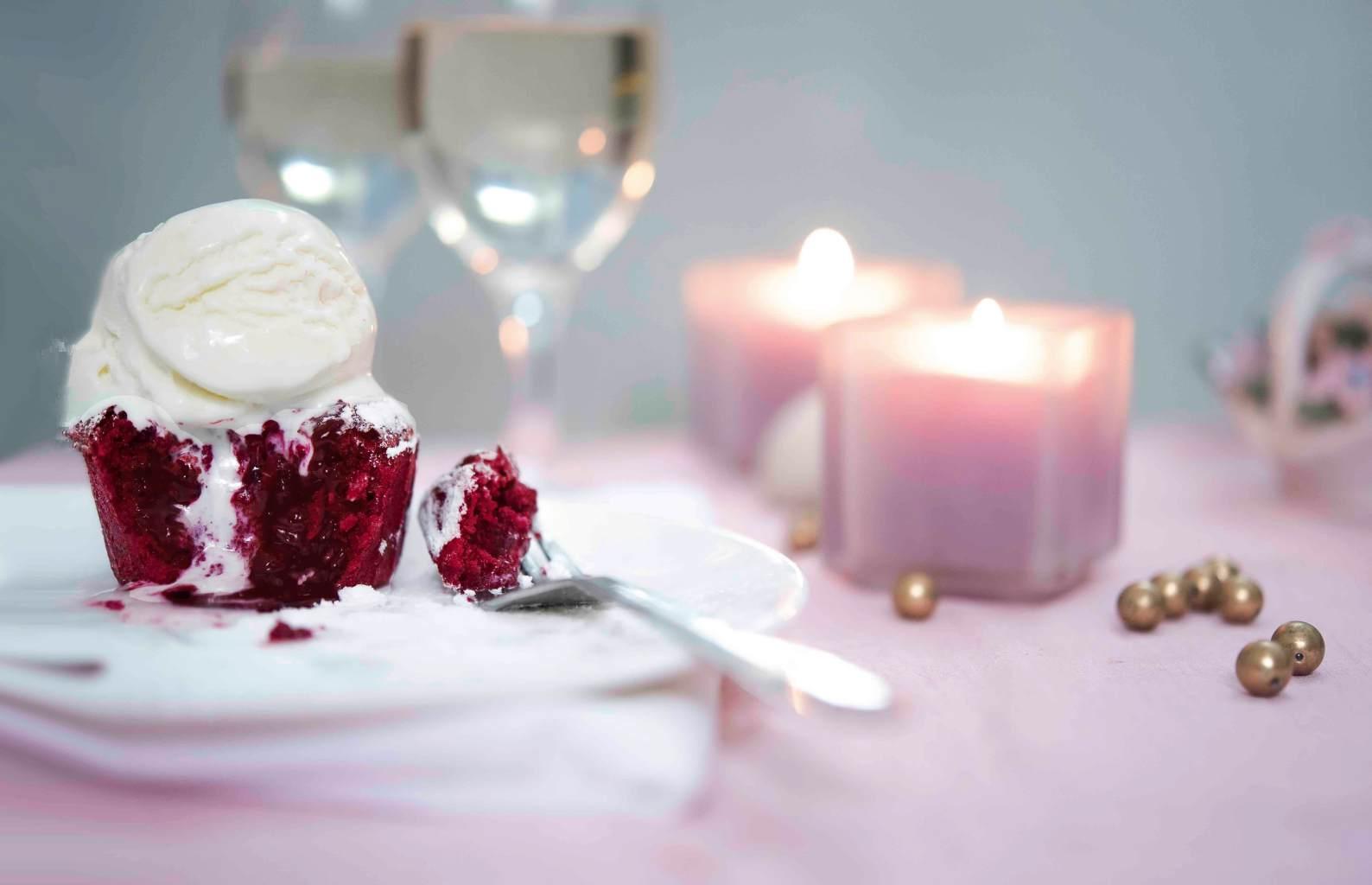 Red Velvet Lava Cake