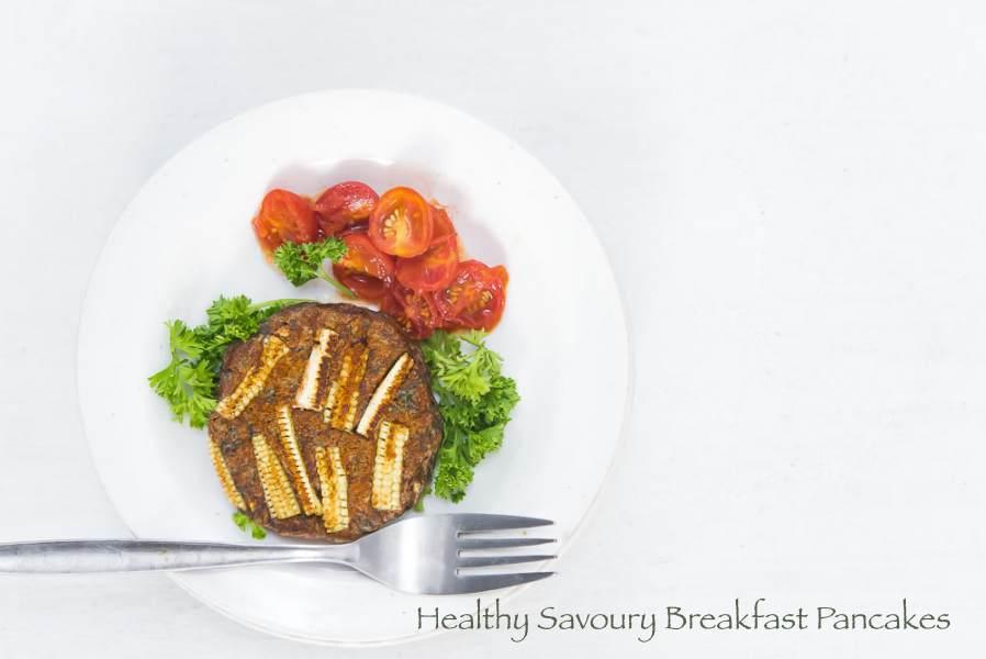 Healthy Savoury Pancakes