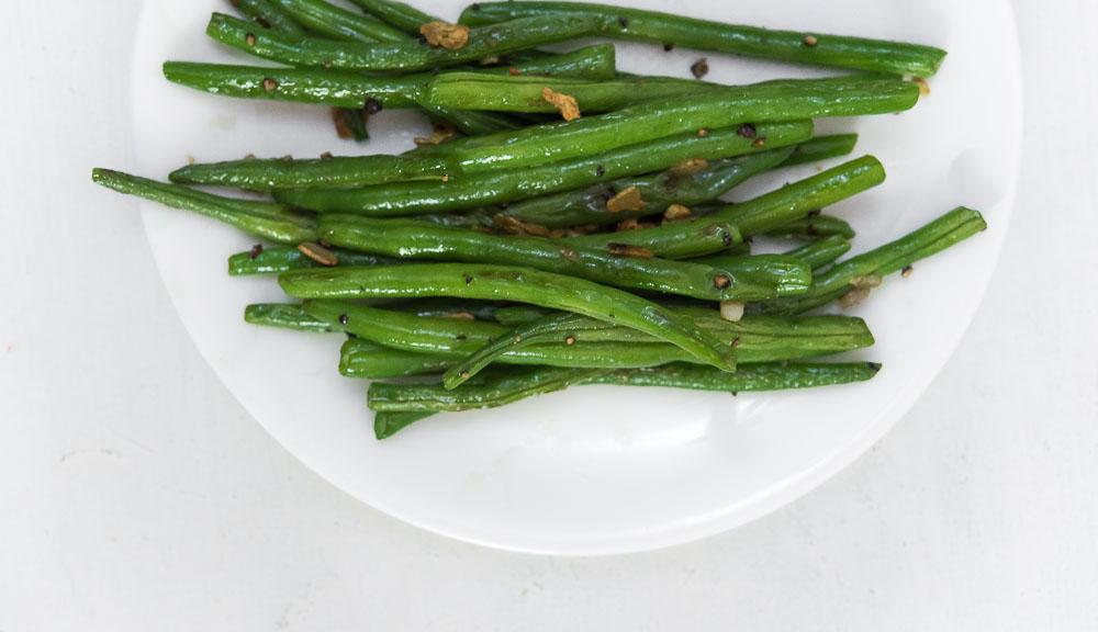 sautéed French beans