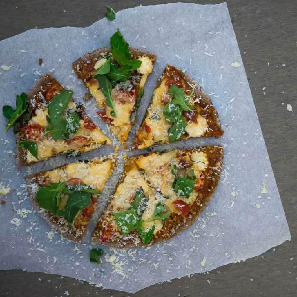 Health flour pizza base