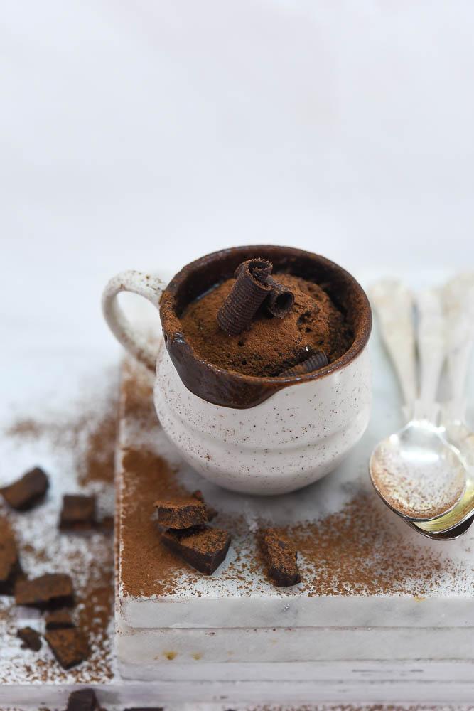 Chocolate Nutella Mug Cake