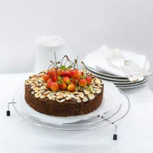 Sugar Free Chocolate Carrot Cake