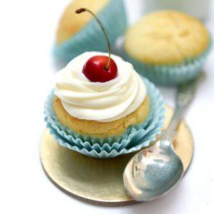 Eggless Buttercream Cupcakes