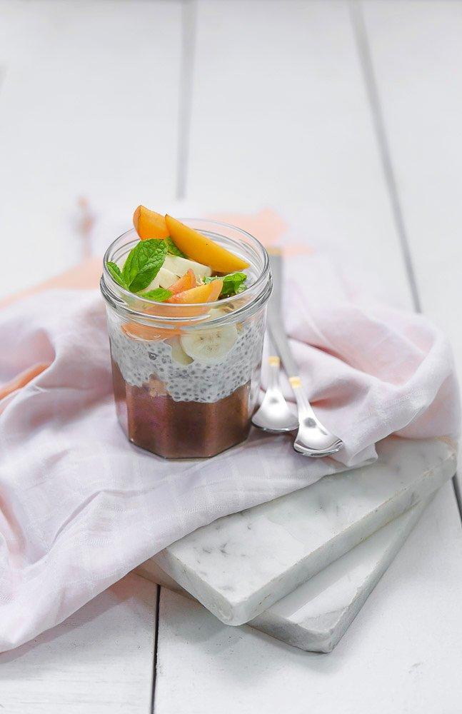 Healthy Chocolate Chia Pudding