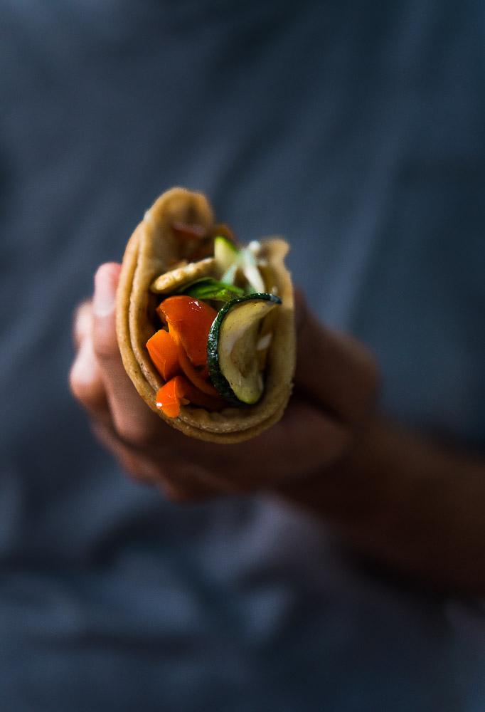 Protein Rich Health Flour Tacos