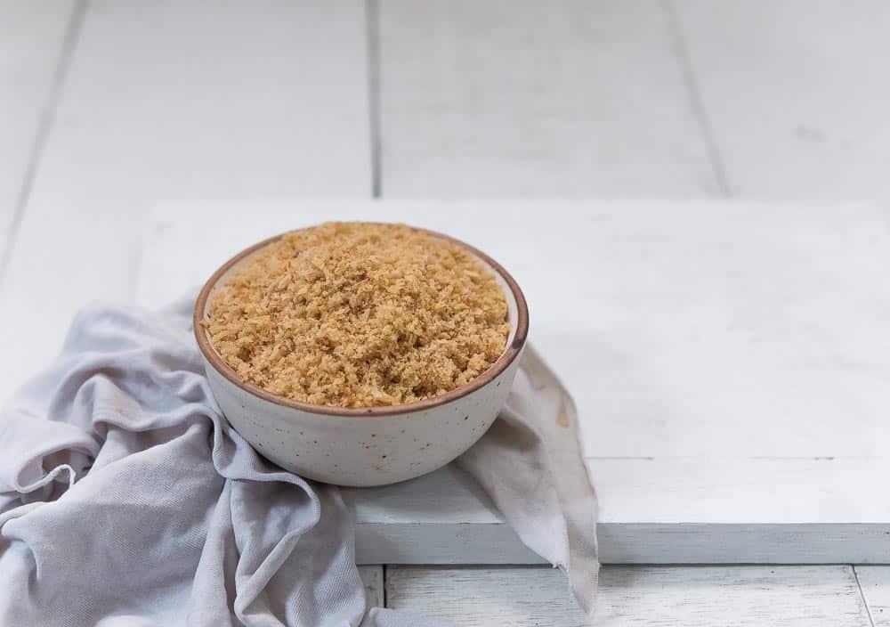 homemade bread crumbs