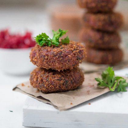 Quinoa Beet Kebabs