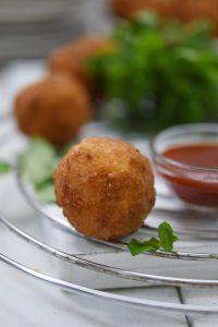Biryani Bombs Appetiser Recipe