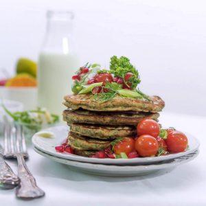 Healthy Gluten-free Savoury Pancakes