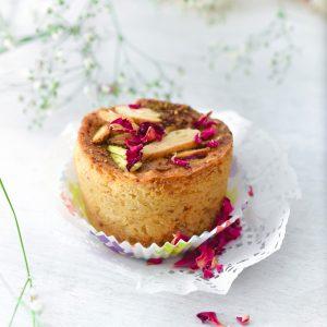 Thandai Mawa Muffins